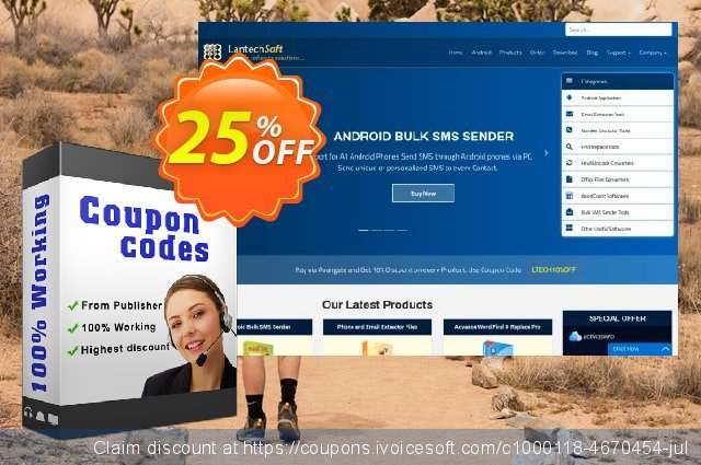 LantechSoft Bundle Advance Word + Excel find replace discount 25% OFF, 2020 Halloween offering sales