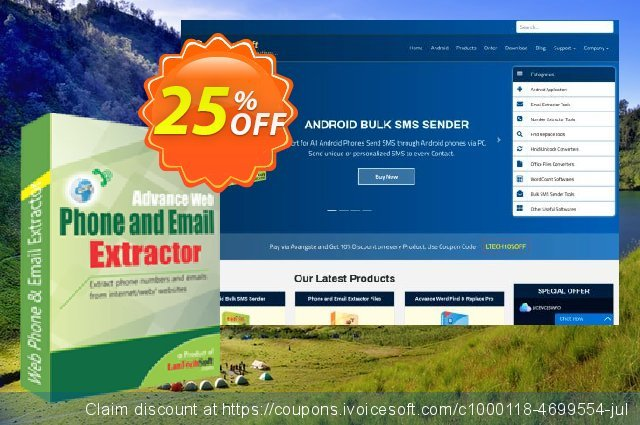 LantechSoft Advance Web Phone and Email Extractor  멋있어요   매상  스크린 샷