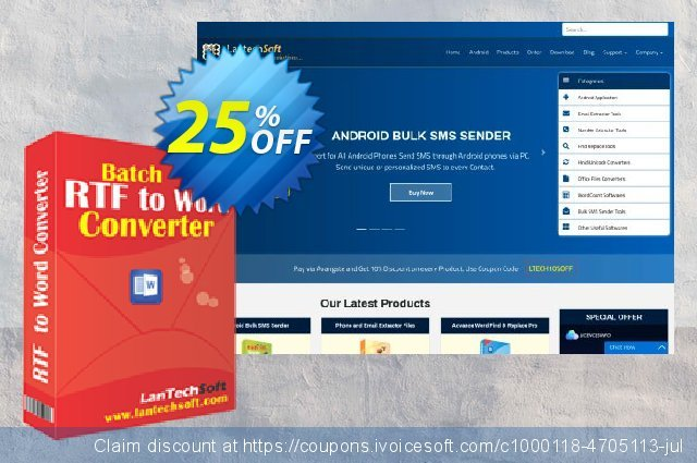 Batch RTF to Word Converter discount 10% OFF, 2019 Back to School promo offering sales