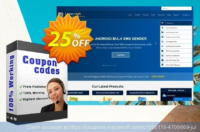 LantechSoft Email and Number Special Combo Offer discount 25% OFF, 2020 Back-to-School promotions offering sales