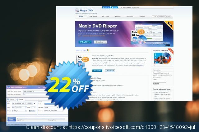 Magic DVD Ripper (Full License + 2 Years Upgrades) 最佳的 优惠 软件截图