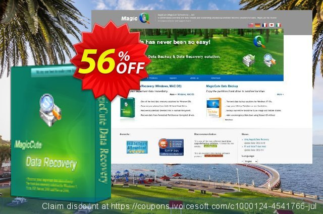 MagicCute Data Recovery 1-Year License Key discount 56% OFF, 2019 Exclusive Student discount offering sales