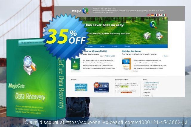 MagicCute Data Recovery - 2 Years discount 35% OFF, 2019 Thanksgiving discount