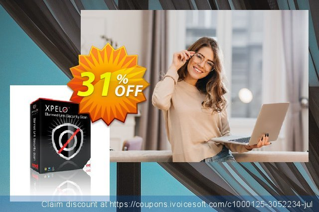 XPELO® Banned Link Security Scan discount 31% OFF, 2020 Black Friday offering sales