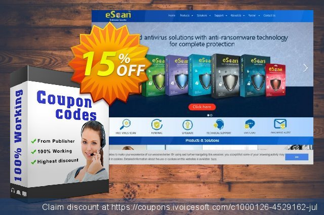 eScan for linux Desktops discount 15% OFF, 2020 Working Day offering sales