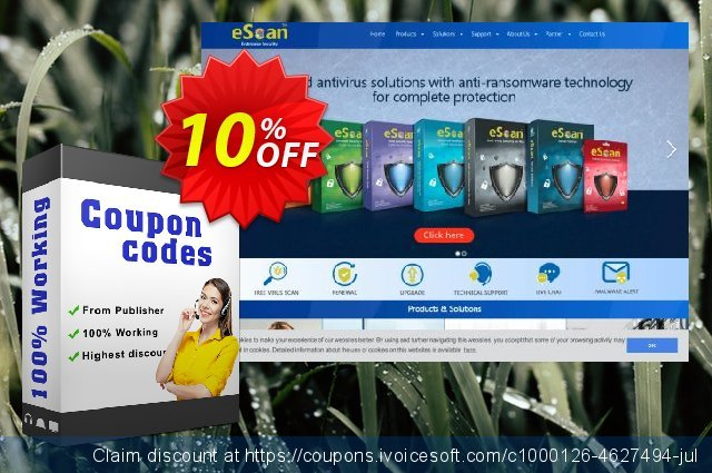 eScan Universal Security Suite discount 10% OFF, 2019 College Student deals offering sales