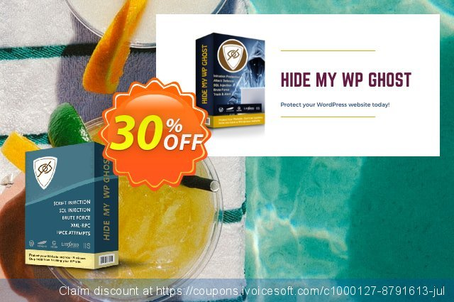 Hide My WP Ghost - 1 Website discount 30% OFF, 2021 Labour Day offering sales. 30% Discount - 1 Website