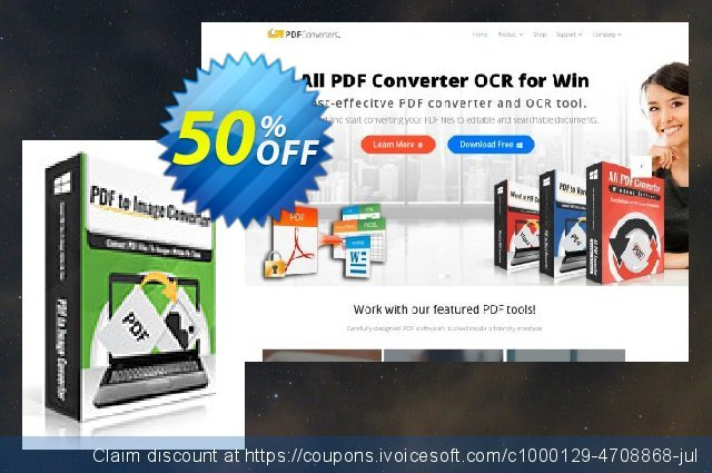 PDFtoImage Converter discount 30% OFF, 2020 New Year offering sales