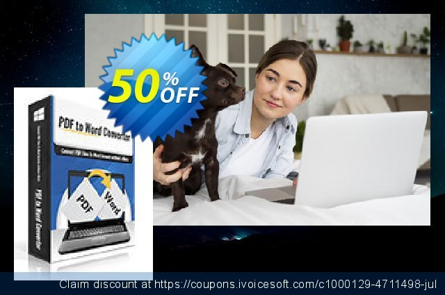 PDFtoWord Converter discount 30% OFF, 2020 New Year's Weekend deals