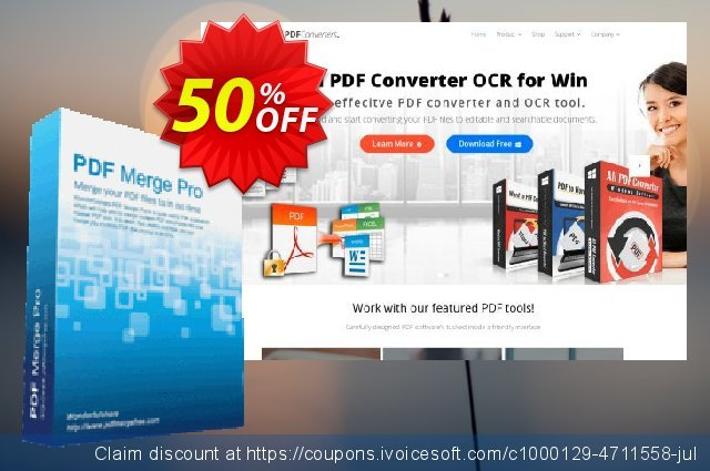 Wonderfulshare PDF Merge Pro discount 50% OFF, 2021 Happy New Year offering discount