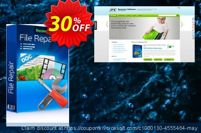 RS File Repair 1.1 discount 30% OFF, 2020 University Student offer discounts