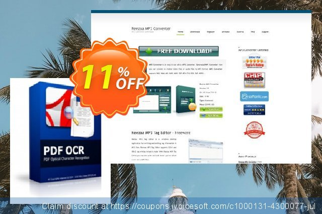 Reezaa PDF OCR discount 11% OFF, 2020 New Year's Day discounts