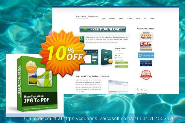 Reezaa JPG To PDF discount 10% OFF, 2021 Happy New Year promotions