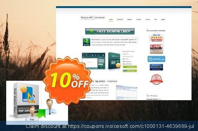 Reezaa PDF Editor Mac PRO discount 10% OFF, 2021 Mother's Day promo. PDF Editor Mac PRO big deals code 2021