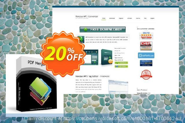 Reezaa PDF Merger Mac discount 20% OFF, 2021  Lover's Day offering deals