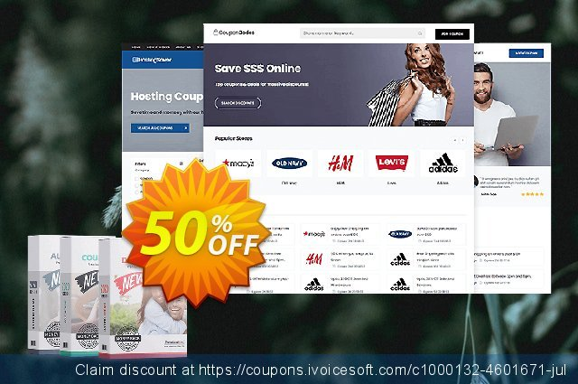 PremiumPress Responsive Coupon Theme discount 69% OFF, 2020 January deals