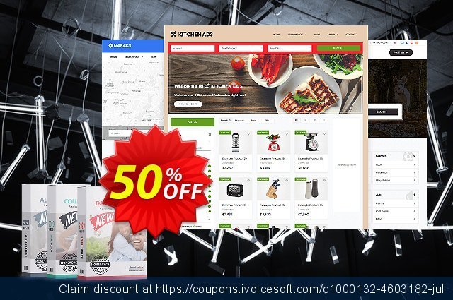 PremiumPress Responsive Classifieds Theme 壮丽的 产品销售 软件截图