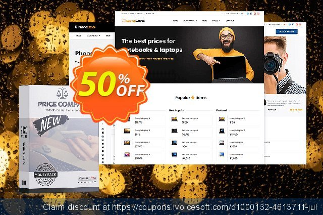PremiumPress Comparison Theme discount 50% OFF, 2021 January offering sales