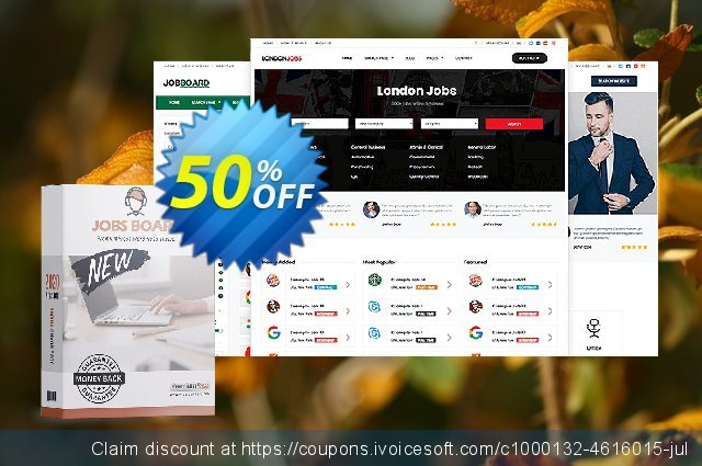 PremiumPress Responsive Job Board Theme discount 75% OFF, 2019 Back to School promotion promo