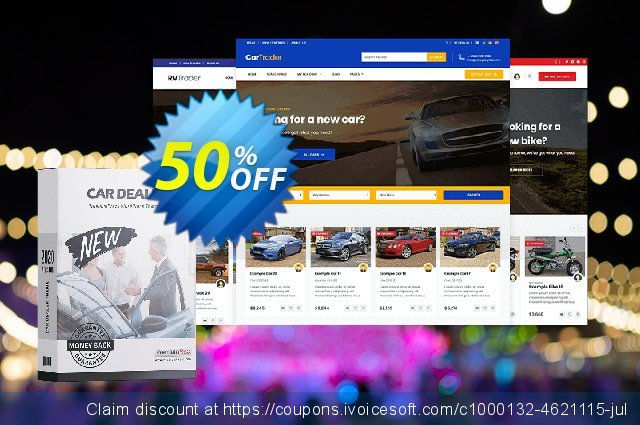 PremiumPress Responsive Car Dealer Theme discount 69% OFF, 2020 American Independence Day offering sales