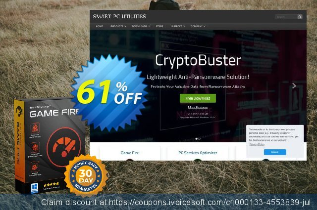 Game Fire 6 PRO discount 35% OFF, 2020 New Year's Weekend promo sales