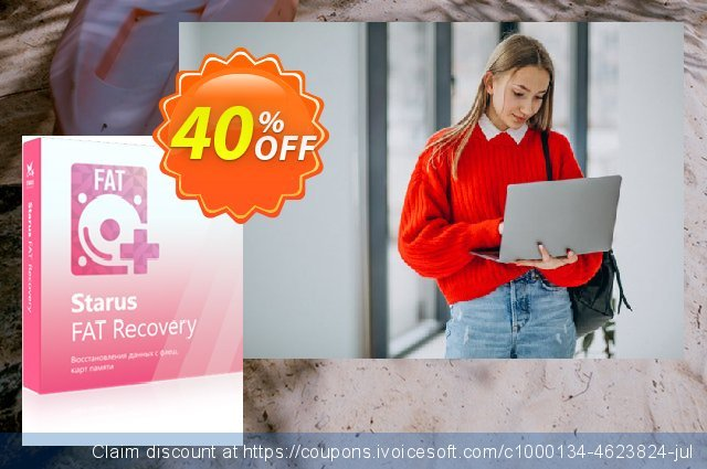 Starus FAT Recovery discount 40% OFF, 2020 College Student deals sales