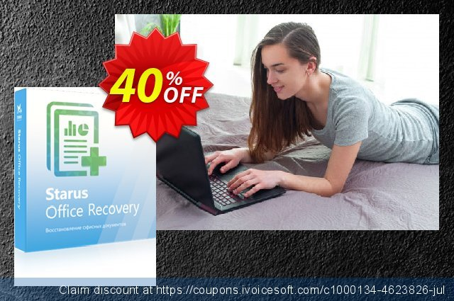 Starus Office Recovery discount 40% OFF, 2020 College Student deals offer