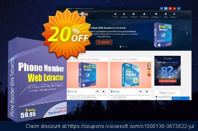 Phone Number Web Extractor discount 20% OFF, 2021 All Hallows' evening sales. Christmas OFF