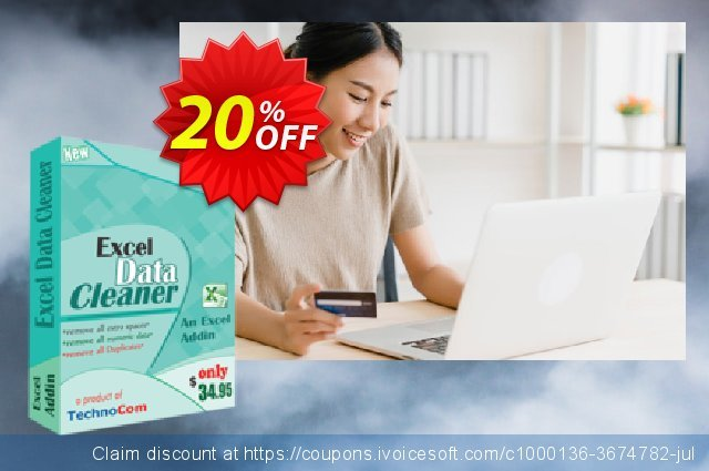 Excel Data Cleaner discount 20% OFF, 2021 National Savings Day deals. Christmas OFF