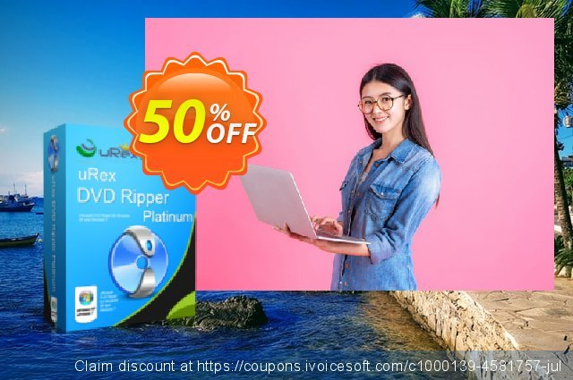 uRex DVD Ripper Platinum + Free Gift discount 50% OFF, 2020 Back to School promotion discounts