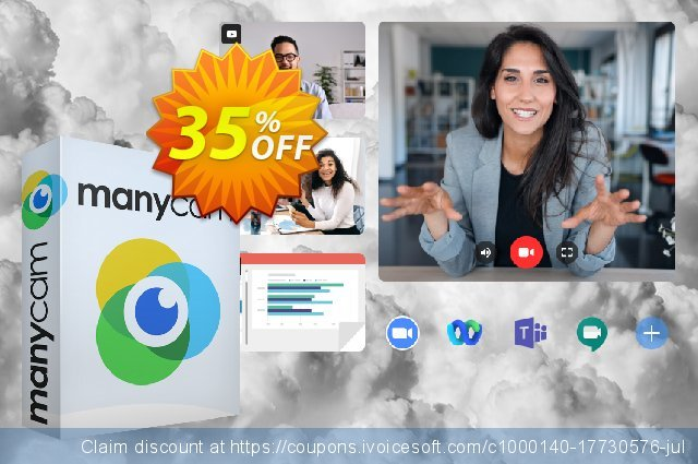 ManyCam Premium Lifetime discount 36% OFF, 2020 Back to School promotion offering sales