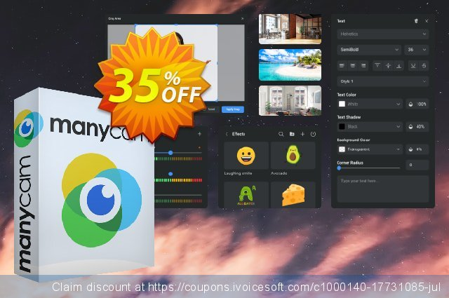 ManyCam Enterprise (10 users) discount 31% OFF, 2020 Halloween offering sales