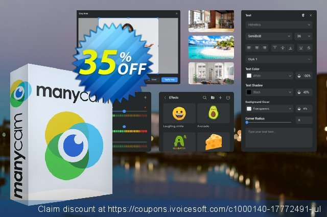 ManyCam Enterprise (10 users) Lifetime discount 30% OFF, 2020 Back to School Promos offering sales