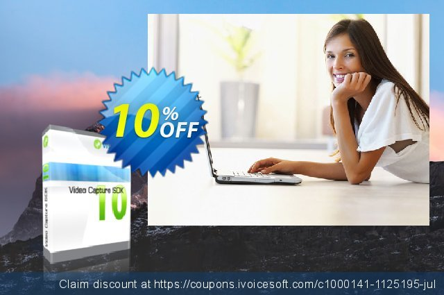 Video Capture SDK Standard - One Developer discount 10% OFF, 2020 Father's Day sales