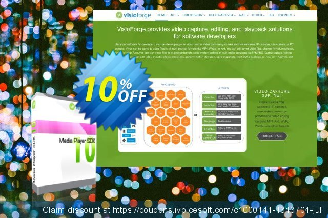 Media Player SDK Standard - One Developer discount 10% OFF, 2020 Back to School coupons offering sales