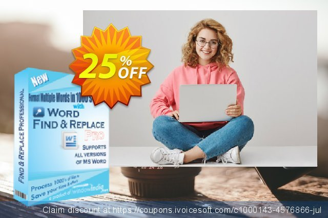 WindowIndia Word Find and Replace PRO discount 25% OFF, 2020 Halloween offering sales