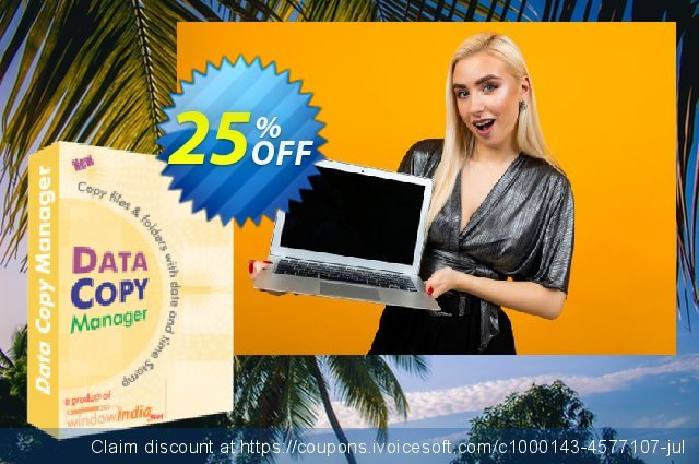 WindowIndia Data Copy Manager discount 25% OFF, 2020 Halloween promo sales