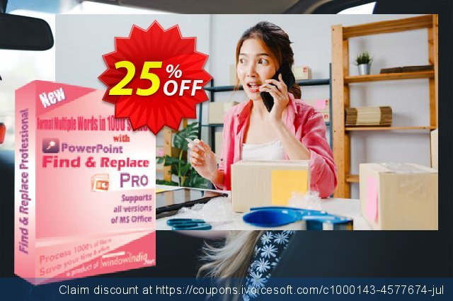 WindowIndia Powerpoint Find and Replace PRO discount 25% OFF, 2020 Halloween offering discount
