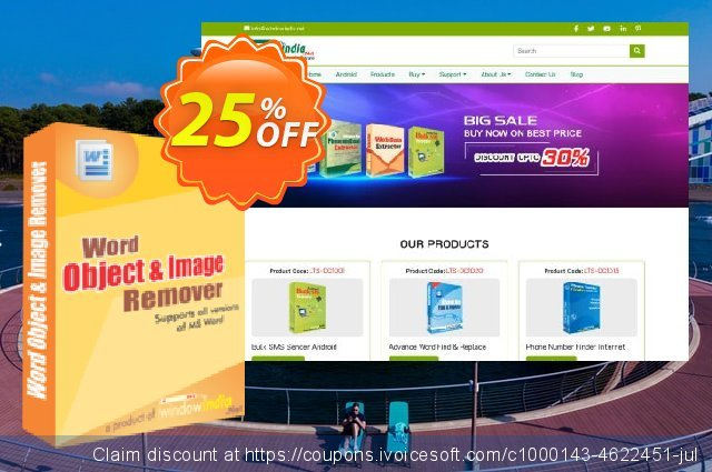 WindowIndia Word Object and Image Remover discount 25% OFF, 2020 Halloween discounts