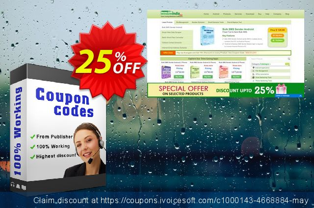 WindowIndia Bundle Files Email+Number Extractor discount 25% OFF, 2020 April Fools' Day promo sales