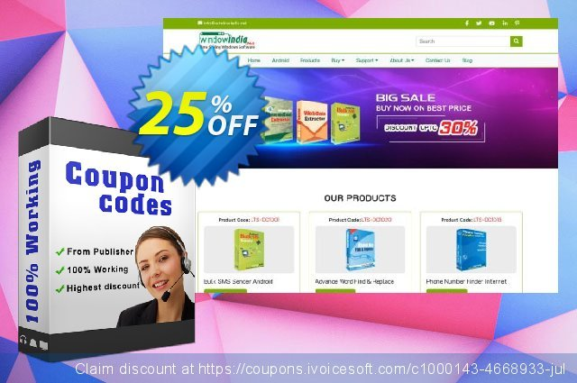 WindowIndia Bundle Find and Replace (Word + PPT) Tools discount 25% OFF, 2020 Back-to-School promotions offering sales