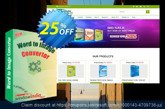 WindowIndia Word to Image Convertor discount 25% OFF, 2020 Halloween promotions