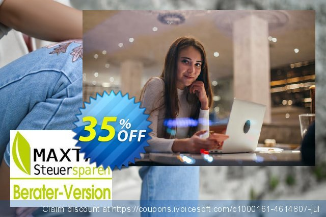 MAXTAX 2014 - Beraterversion 50 Akten discount 35% OFF, 2019 Back to School offer offering sales
