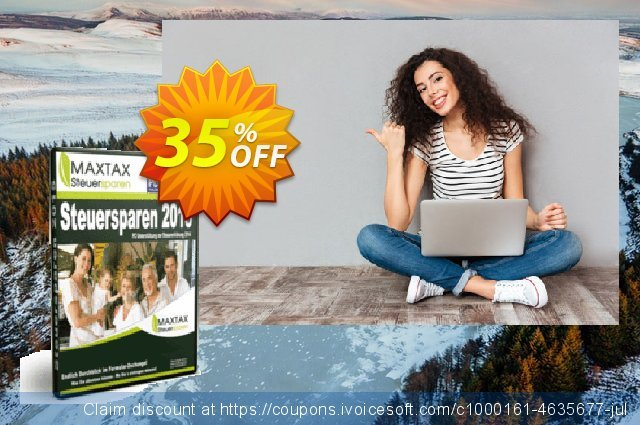 MAXTAX Steuersparen 2015 Standard discount 35% OFF, 2020 4th of July deals