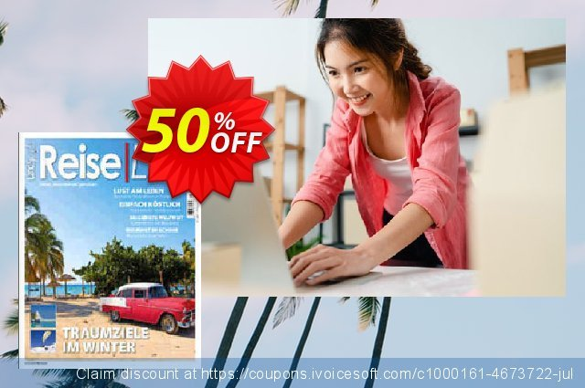 ReiseLust Magazin discount 50% OFF, 2020 4th of July promo