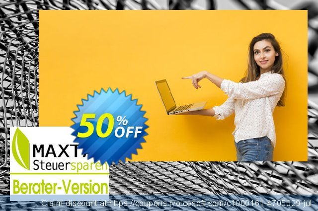 MAXTAX - Beraterversion Nachlizensierung discount 50% OFF, 2021 Happy New Year offering sales