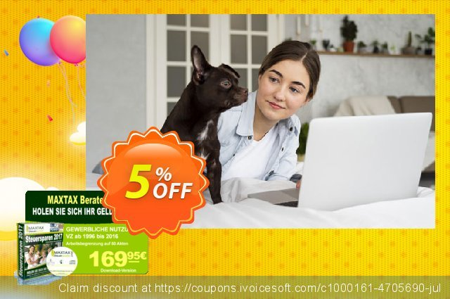 MAXTAX - Beraterversion 2017 - 50 Akten discount 5% OFF, 2021 New Year's Weekend offering sales