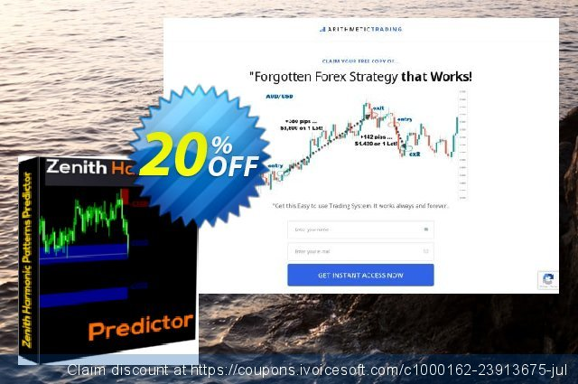 Zenith Harmonic Patterns Predictor discount 20% OFF, 2020 Back to School promo offering sales