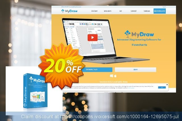 Get 20% OFF MyDraw for Windows offering sales