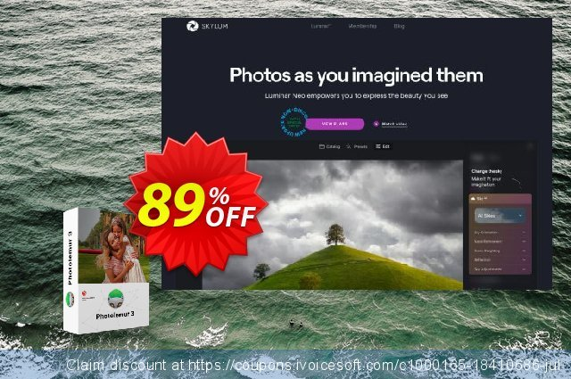 Photolemur 3 Holiday Bundle discount 89% OFF, 2020 Halloween promo sales